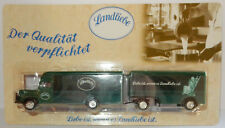 GRELL HO 1/87 CAMION TRUCK TRAILER 1956 BÜSSING 5000 LANDLIEBE PRODUITS LAITiERS