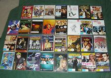 31 BULK DVDs Westerns Omega Man Italian Job The Castle Buffy ER Music Region 4
