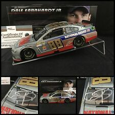 "2014 DALE JR Autographed #88 NATIONAL GUARD CHEVY ""RAW"" FINISH 1/24 W/COA"
