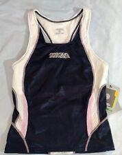 Women's Tri tank shirt Profile Design Elite triathlon navy pink Small Nwt