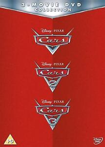 Cars: 1, 2 & 3 DVD Box Set Disney Pixar New sealed