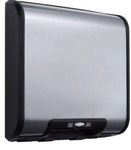 Bobrick trimline surface mounted hand dryer s/steel B7128
