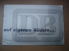 DB Deutsche Bundesbahn, auf eigenen Rädern (1958)
