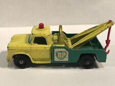 Matchbox Regular Wheels Dodge Wreck Tow Truck BP Lesney  England Good Cond MB13