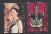 2003 Australia Golden Jubilee of QE II Coronation Stamp Set (AU2264)