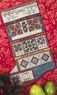 10 Off RoseWood Manor Counted X-stitch chart - Christmas Stars Quilt Stocking