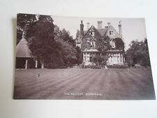 ALDWINCLE, THE RECTORY Vintage Rare RPPC Franked+Stamped  Aldwincle 1916  §A2926