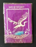 WESTPORT NEW ZEALAND Sew On Patch Badge NEW Never Used