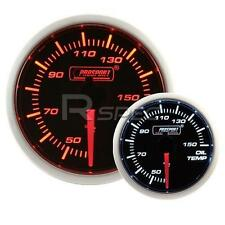 Prosport 52mm Super Smoked Amber / White Oil Temperature Deg C Gauge