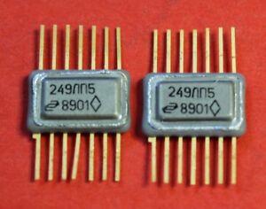 249LP5 IC / Microchip USSR  Lot of 2 pcs
