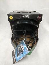 New Nos Brine Triad St Lacrosse Helmet black Oc-Loc Small/Medium