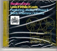 (FD565) Modern Disco Love It While It Lasts - sealed Ministry CD