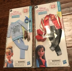 Disney Princess Comfy Squad Cinderella Mulan Ralph Breaks Internet Doll Clothes