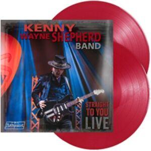 Kenny Wayne Shepherd - Straight To You Live - 180g Red Transparent Vinyl 2LP