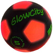 NEW Light Up LED Soccer Ball Black Limited Edition FREE SHIPPING