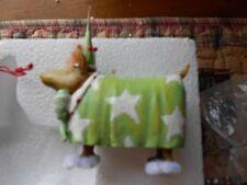 Patience Brewster Krinkles Terrier In Fuzzy Slippers Nib (B)