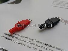 2 Pair Rhodium Plug for DIY Headphone Cables HD600 HD650 HD414
