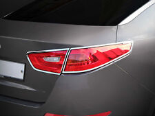 Chrome Rear Tail Light Lamp Molding Trim Cover 4p 1Set For 14 Kia Optima K5