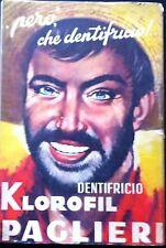 1954  DENTIFRICIO KLOROFIL PAGLIERI