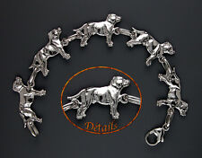 "Bracelet Chien STAFFORDSHIRE BULL TERRIER DOG - ""STAFFIE DOG"" Made in France"