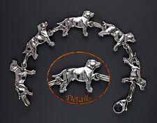 "Bracelet Chien STAFFORDSHIRE BULL TERRIER DOG - ""STAFFIE DOG"" Made in France"