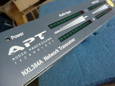 APT NXL384A Broadcast Network Transceiver apt-X Audio Codec + Connection Cables