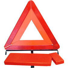 LARGE WARNING TRIANGLE REFLECTIVE ROAD EMERGENCY BREAKDOWN SAFETY HAZARD CAR NEW