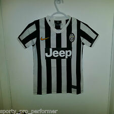 Nike Dri-Fit 2013/14 Juventus Home jersey Boys size Small Serie A Champions