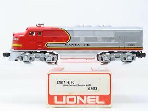O Gauge 3-Rail Lionel 6-8653 ATSF Santa Fe F3A Diesel Locomotive #8653 Dummy