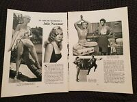 Julie Newmar - Vintage Hollywood - 1962 Book Print
