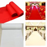 Red White Large Carpet Wedding Aisle Floor Runner Hollywood Awards Party   A