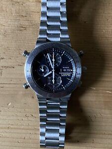 Seiko 7t59-6A00 1/100 Sec Chronograph.