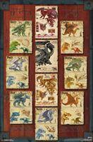 DUNGEONS & DRAGONS - DRAGON GRID POSTER - 22x34 - GAME 16583