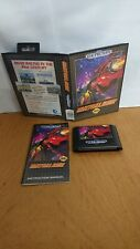 Outrun 2019 for Sega Genesis 100% GENUINE ORIGINAL RARE AMAZING CONDITION