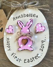 Personalized Baby First Easter Keepsake Bunny
