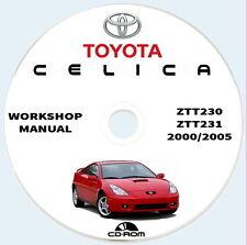 TOYOTA CELICA T230/31.Workshop,Repair Maintenance,Diagnostics Manual,