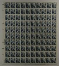 US SCOTT 1280 PANE OF 100 FRANK LLOYD WRIGHT 2 CENT FACE MNH