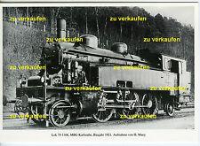 Dampflok 75 1106 MBG Karlsruhe 1921 AK (*7844)