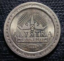 1995 ALYSTRA CASINO - $1.00 Gaming Token - Henderson, NV