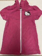 Used Girls Toddler Hello Kitty Swim Cover Up Size 3T Pink