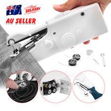 Single mini Portable Stitch Handheld Sewing Machine Quick Handy Cordless Repair