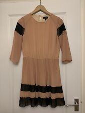 Topshop Nude Tea Dress, Size 10