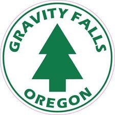 Gravity Falls, Oregon Round Vinyl Sticker Decal Sticker