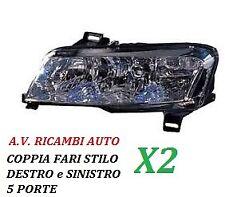 COPPIA FARI FANALE PROIETTORE ANTERIORE DX-SX FIAT STILO 5 PORTE DAL 2001 IN POI