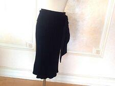 Jean Paul Gaultier Black Knitted Skirt Sz L