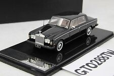 HandMade Model 1:43 scale Rolls-Royce 1978 Silver Wraith II (Black/Tan Interior)