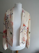 Floral Casual Veste Promod Taille 14 uk/42 Europe neuf avec étiquette