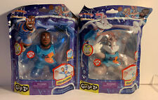 Heroes of Goo Space Jam New Legacy Lebron James Bugs Goo Heroes Stretch Toy Lot