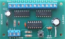 LS-DEC 5x2 DCC, Digitale SEGNALE DECODER per 5 segnali di luce, NRMA DCC DIGITAL Giusti