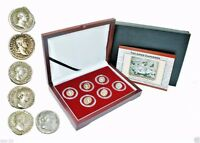 The Good Emperors,The Grandeur that was Rome; 6 Silver Coins,With Beautiful Box